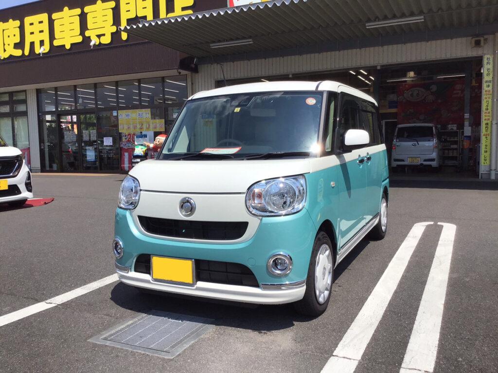 ☆7月30日納車のお車の納車準備を行いました☆福山市尾道市岡山で軽自動車を買うなら未使用車専門店キュート福山店